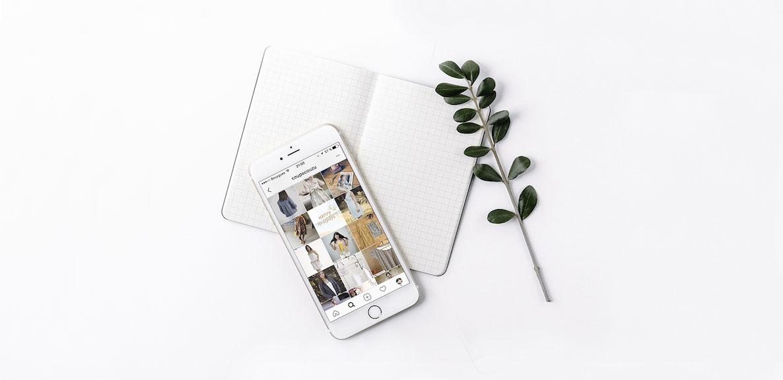 mockup animation du compte instagram pour coupé couzu