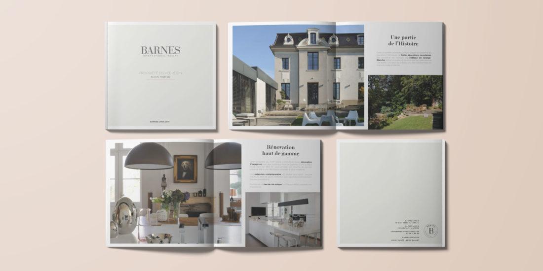 Création d'un livret d'exception pour BARNES Lyon