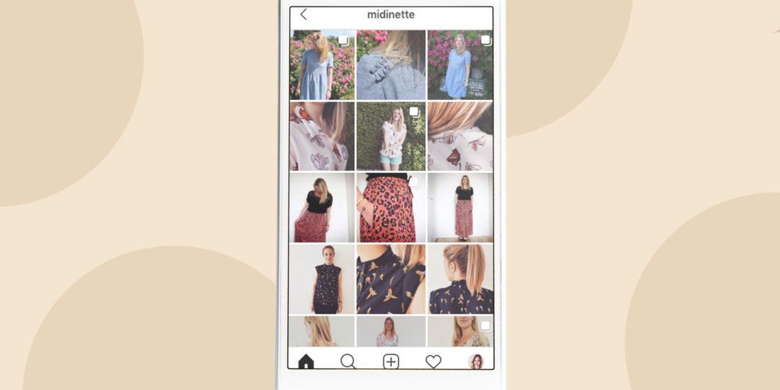 Compte Instagram Mes Chères midinettes